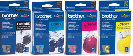 Brother Brother DCP-365CN LC980 ORIGINAL SET