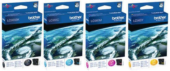 Brother Brother DCP-J140W LC985 ORIGINAL SET