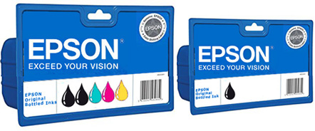 ET-7700 Epson Original (105/106) Multipack + Black