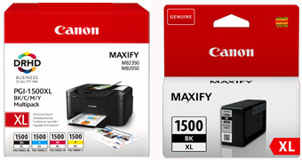 MB2755 Canon OE PGI-1500XL SET PLUS BLACK