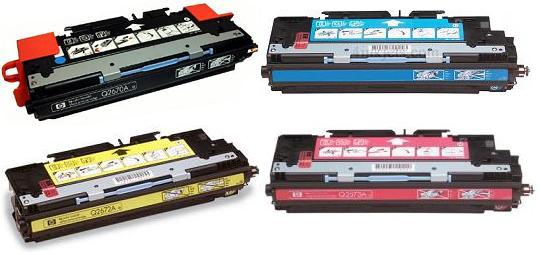 Q2670-3 SET OF 4 TONERS
