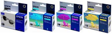 CX6400 T0431+T0442+T0443+T0444 Epson Originals