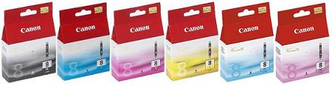 IP6700D Canon OE 6 CARTRIDGE SET