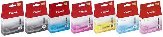 MP960 Original Canon Cartridges 7 Set