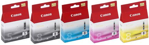 MP810 Canon OE 5 CARTRIDGE SET